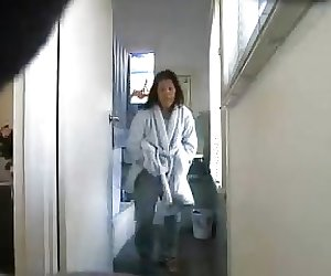 Mature Asian ONE TIT  Bedroom several changes