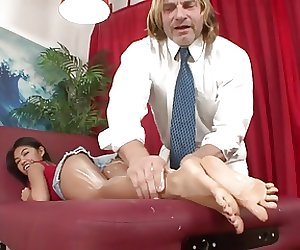 She Need of a Feet hot Massage. CS