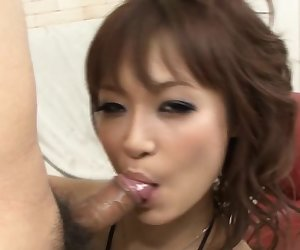 Misa Kikouden just loves to cum and she loves to cum loud,