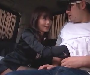 Horny Japanese chick in Crazy JAV movie
