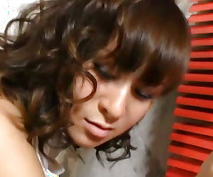 Curvy ass Japanese shows off during nasty oral play