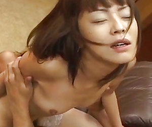 Mai Satsuki fucked with vibrator and cock at office